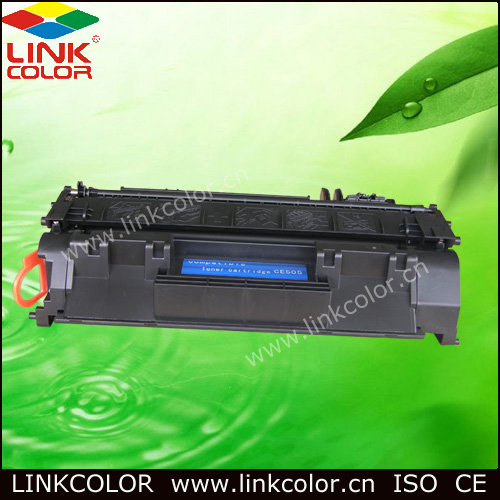 Shipping Free CE505A 05a 505A 05 Black LaserJet Toner Cartridge for HP laser jet P2035/P2035n,P2055D/2055DN/2055X (2300 Pages)