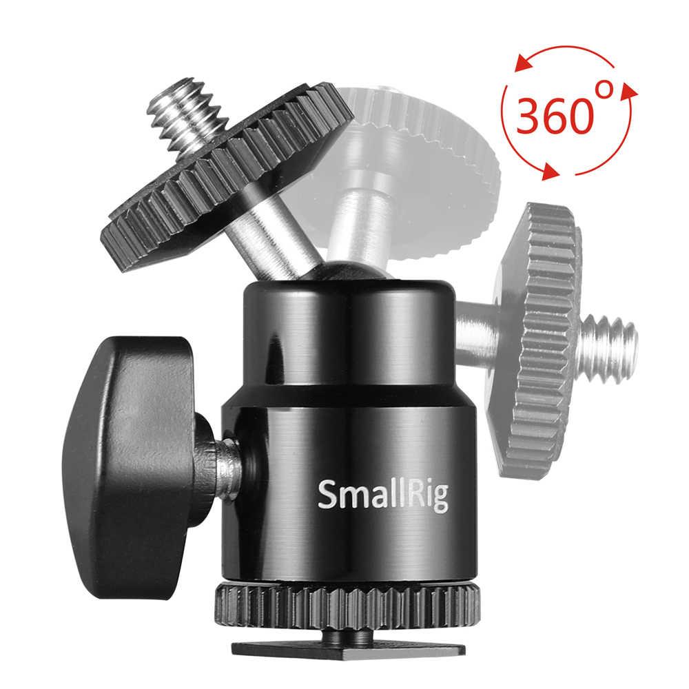 """SmallRig 1/4 """"uchwyt gorącej stopki kamery z dodatkową śrubą 1/4"""" (opakowanie 2 szt.) do uniwersalnej ramka do kamery Dslr/Monitor/Lcd-2059"""
