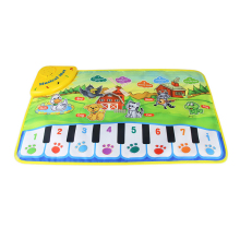 37X60Cm Baby Musical Carpet Children Play Mat Baby Piano Music Gift Baby Educational Mat Electronic Toys For Kids 110x36cm musical mat keyboard music carpets piano play mat touch keys melody instrument educational toy gift for boys