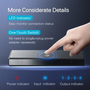 Image 5 - Ugreen HDMI 2.0 Splitter UHD 4K/60Hz HDR Adapter HDMI 1x 4/1x2 HDMI 1 wejście 4 konwerter wyjściowy dla PS4/3 HDTV rozdzielacz HDMI