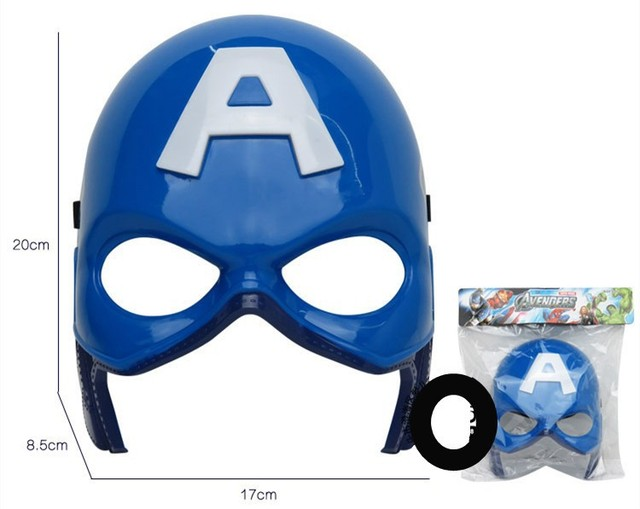 Captain A - 32cm luminous light & Sound Shield + Mask