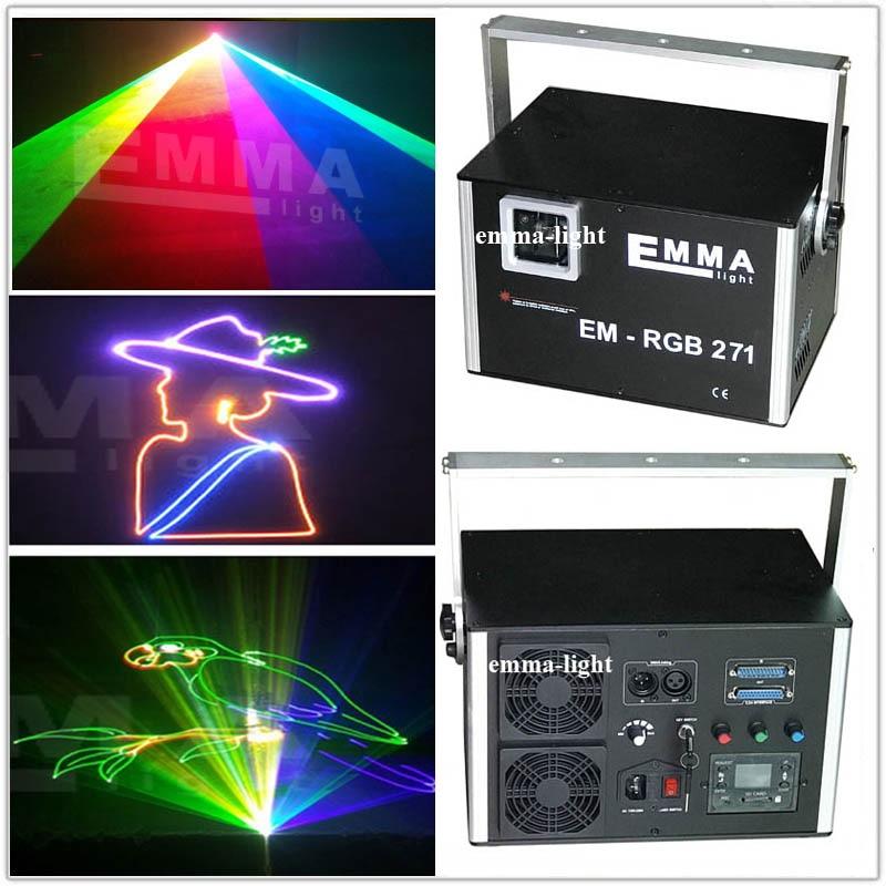 Full color 5 watt Beam animated Laser RGB Light DJ Lighting Systems ...