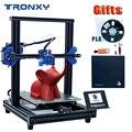 TRONXY 3D принтер XY-2 Pro Модернизированный быстрый нагрев автоматическое выравнивание восстановление сбой питания печатная нить работает детек...