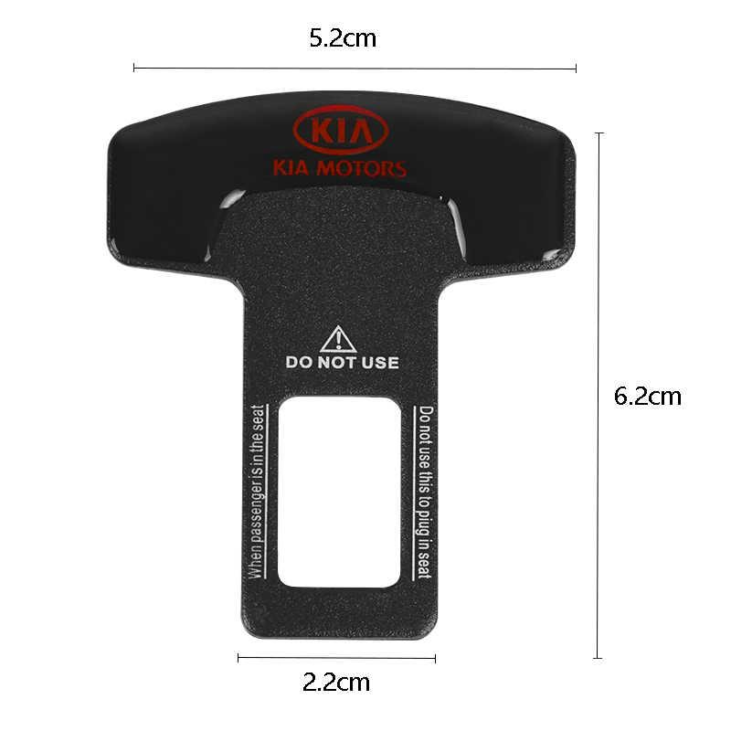 سيارة سلامة مشبك قفل إدراج المكونات كليب مقعد السيارة حزام بطاقة شخصية مشبك لكيا K2 K3 K4 K5 سورينتو سبورتاج R ريو الروح
