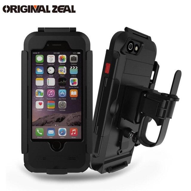 AntiShock Impermeabile Della Bicicletta Supporto Del Telefono Supporto Del Basamento Del Telefono per iPhoneX 8 7 5 s 6 s Moto GPS Holder Supporto telefono Moto