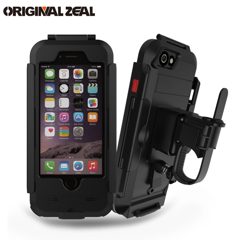 AntiShock Waterproof Bicycle Phone Holder Phone Stand Support for iPhoneX 8 7 5s 6s Motorcycle GPS Holder Support Telephone MotoAntiShock Waterproof Bicycle Phone Holder Phone Stand Support for iPhoneX 8 7 5s 6s Motorcycle GPS Holder Support Telephone Moto