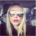 JinCool 2016 Металл Отражение Солнцезащитные Очки Женщины Марка Модельер Стимпанк Sunglass Vintage Солнцезащитные Очки Мужчины Óculos де золь