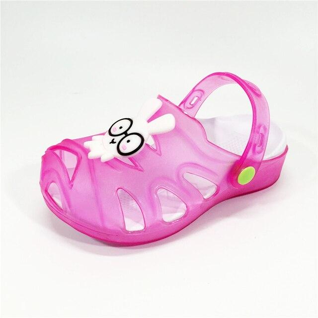 Pantoufles enfant,chaussures Garçon fille LED en Été