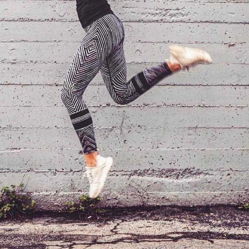 Aliexpress.com   Buy Xl Yoga Pants Striyp Pantalones Para Yoga Sport Leggins  Women Fitness Leggings Gym White Black Gray Women's Sports Suits from  Reliable ... 76fafc2cf598