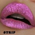 6 Colors Nude Glitter Lip Gloss Matte Glitter Diamond Sand Sexy Liquid Lipstick Cosmetics Kit Makeup Metallic Lipgloss Batom