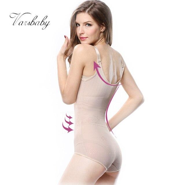 Varsbaby Women's Tummy Control Underbust Slimming Underwear Shapewear Body Shaper Control Waist Cincher Firm Bodysuits