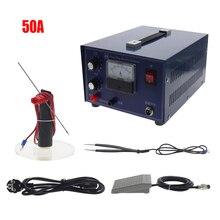 Machine de soudure de soudeuse de contact de soudeuse par points dimpulsion de soudeuse de tache de laser de puissance élevée de DX 50A avec léquipement de bijoux