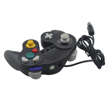 50PCS a lot 3 Buttons For Gamecube P-C Wired Controller Joypad/Joystick/Gamepads For N-G-C For MAC Computer Gamepad
