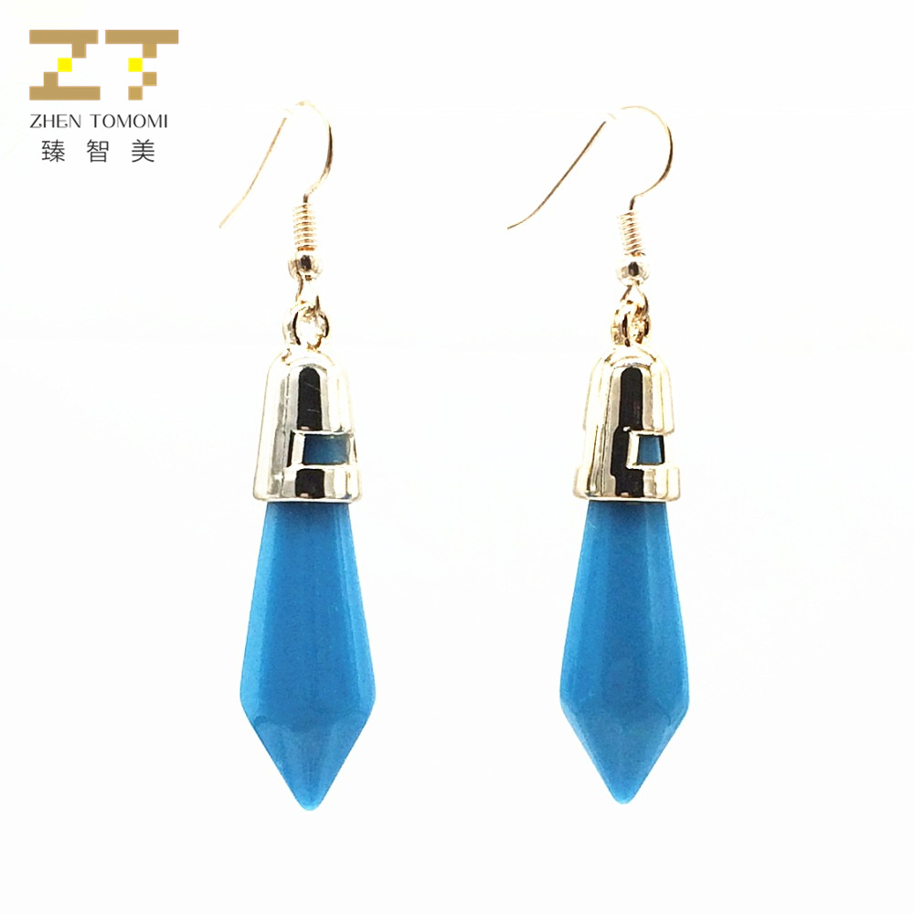 Jewelry & Accessories Enthusiastic Er586 Hot New Fashion Drop Earrings Wholesale Exo Bijoux Geometric Bullet Long Statement Earrings For Women 2018 Jewelry Gift