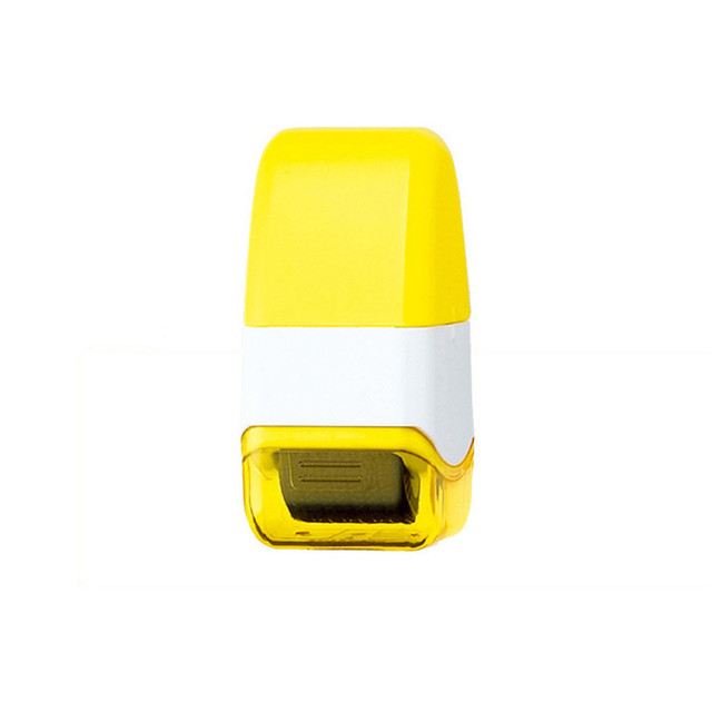 1Pcs Guard Your ID Roller Stamp SelfInking Stamp Messy Code Security Office 2