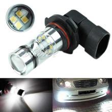 9005 HB3 6000K 100W LED Projector Fog Driving Light Bulb HID White