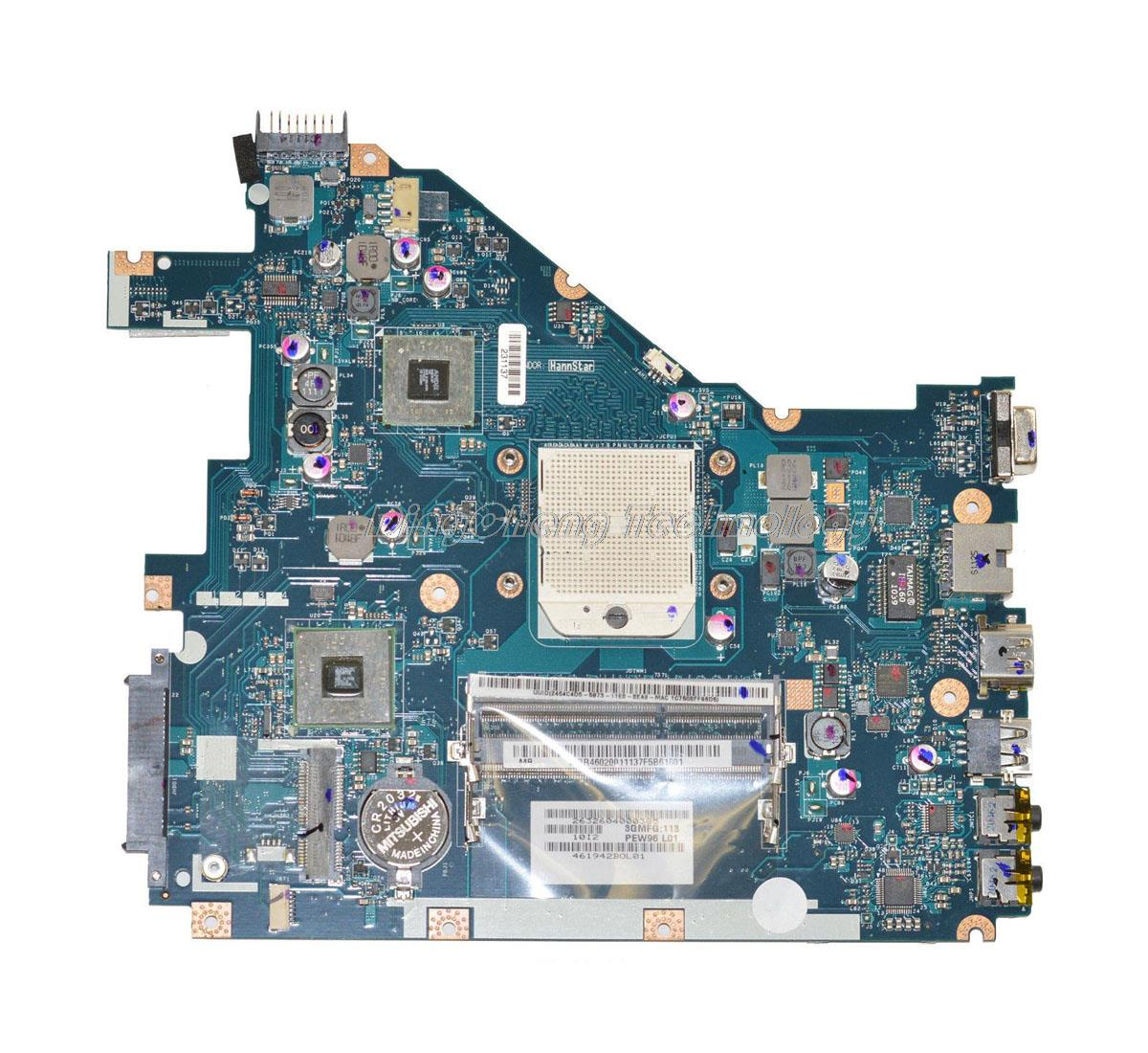 SHELI laptop Motherboard For Acer 5552G MBR4602001 LA-6552P for AMD cpu with integrated graphics card DDR3 100% fully test mukhzeer mohamad shahimin and kang nan khor integrated waveguide for biosensor application
