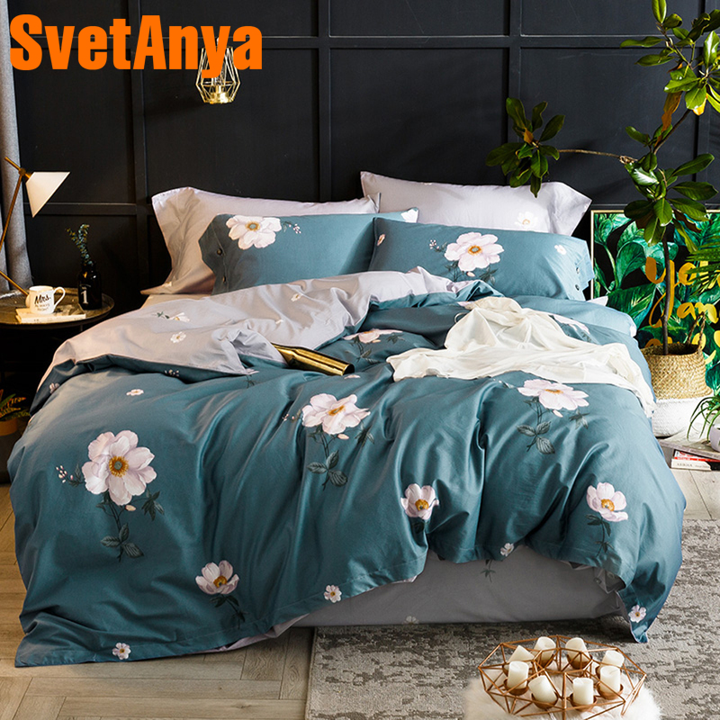 Svetanya Egyptian Cotton Bedding Sets Sheet Pillowcase Blanket Cover Set Twin Queen King Double Size Bedlinen