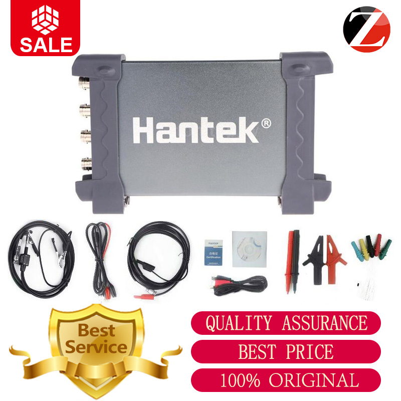 Hantek 6074BC PC USB Oscilloscopes 6074BC 4Channels 70MHz bandwidths 1GSa s Sample Rate 6074BC Excelent Function