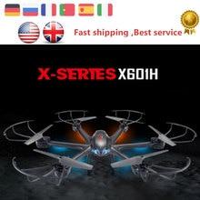 ET RC Drone 2.4G MJX X601H WIFI APP Flip 3D Sin Cabeza de Altitud mantener el modo de vuelo fpv hd cámara rc helicóptero hobby toys vs x5c juguete