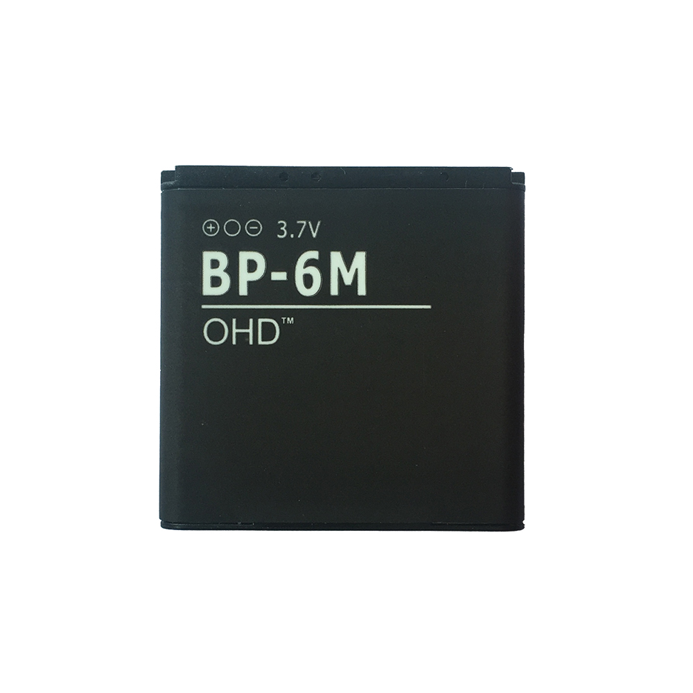 Ооз литий-полимерный телефон Батарея 1100 мАч BP6M <font><b>BP</b></font>&#8211;<font><b>6M</b></font> <font><b>BP</b></font> 6 м Батарея Замена для <font><b>NOKIA</b></font> 6233 6280 6288 9300 N73 N93 батареи