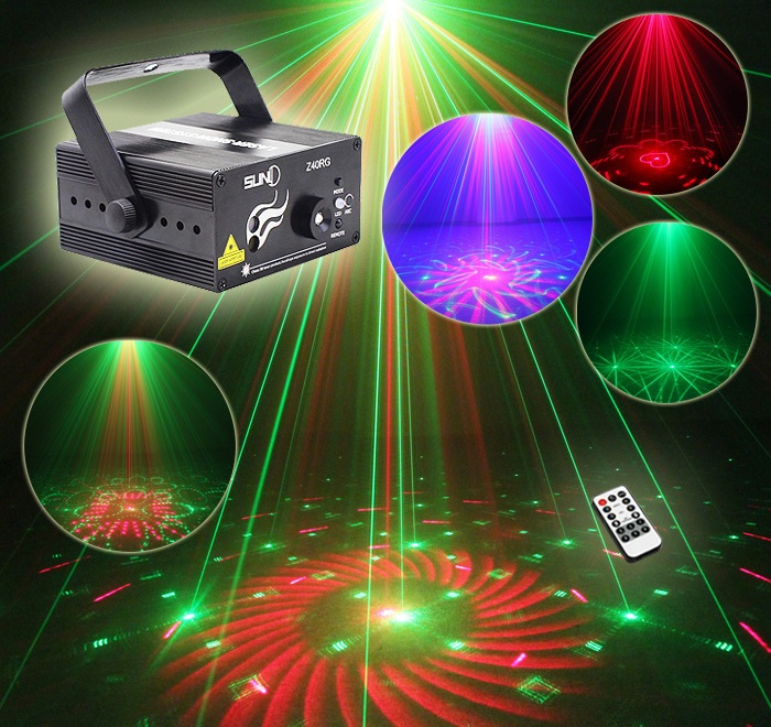 High-quality 3-hole Laser Light Sound Stage Lighting Laser Light lamp bar ktv