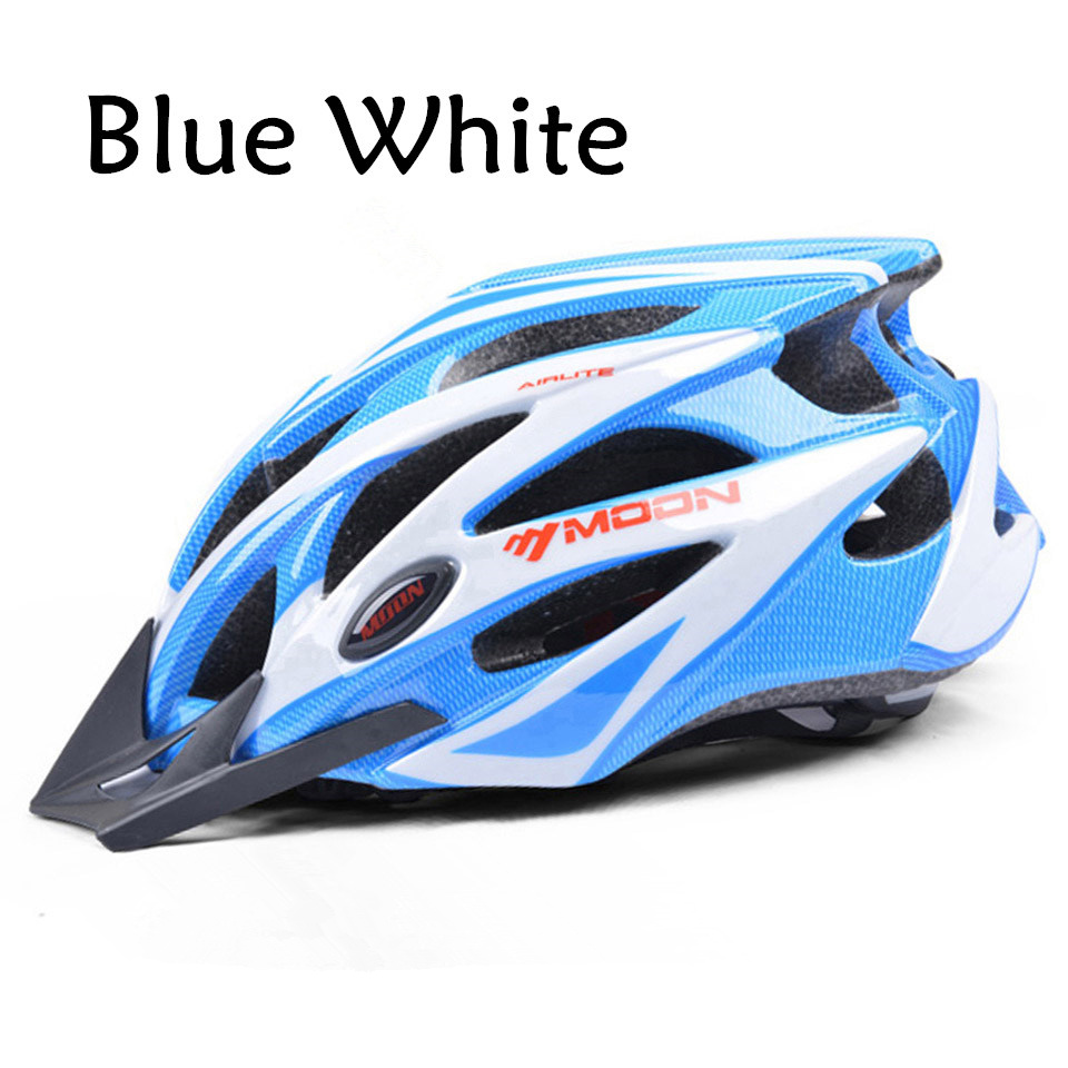 MOON Cycling Helmet Ultralight Integrally-molded Bicycle Helmet MTB Bike Update Model Helmet Road Mountain Riding Equipment цена