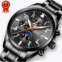 Ailang Pilot Men Mechanical Watch Waterproof Black Watches Luxury Brand Wristwatch Sports Male Automatic Clock Relogio Masculino