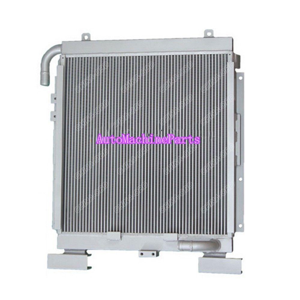 Nouveau refroidisseur d'huile de plaque de barre en aluminium pour le moteur de la Machine S6D95L de PC200-6 de Komatsu
