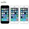 Apple original iphone 5S desbloqueado 16 gb/32 gb rom 8mp câmera 1136x640 pixel wifi gps bluetooth telefone celular multi idioma 5