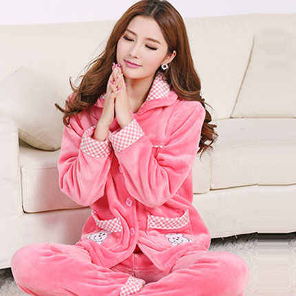 b5e6931cc Detail Feedback Questions about Women Pajama Set Pink Cartoon Bear ...