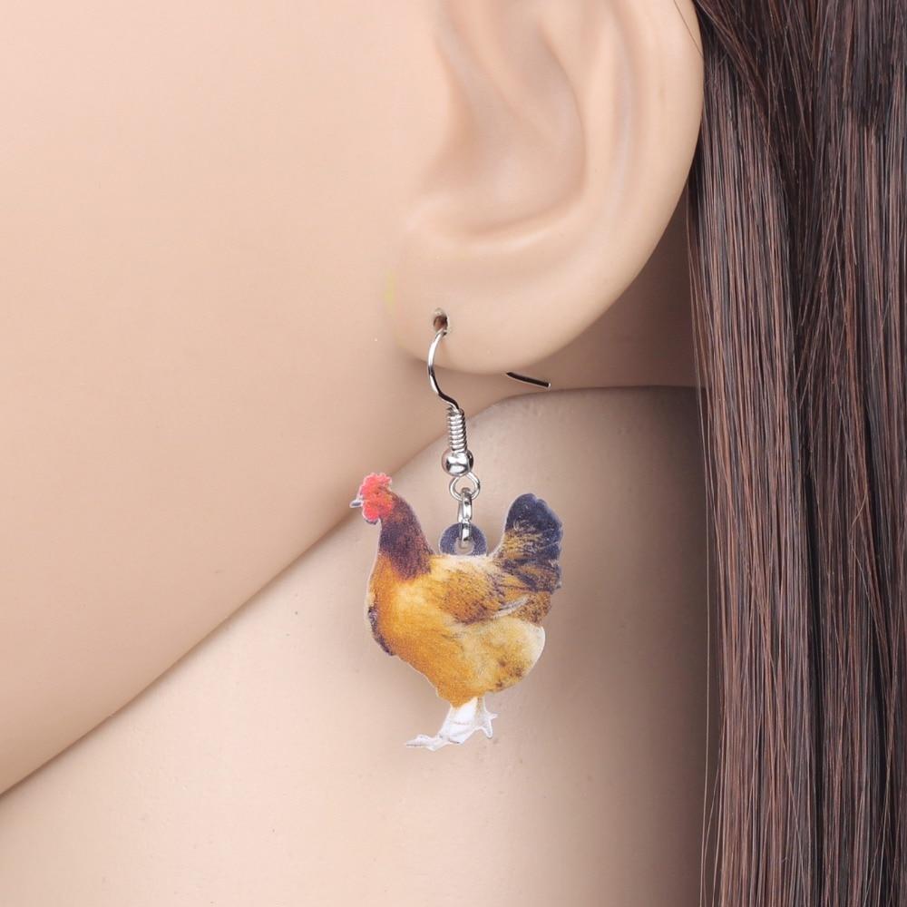 Hen Earrings 3