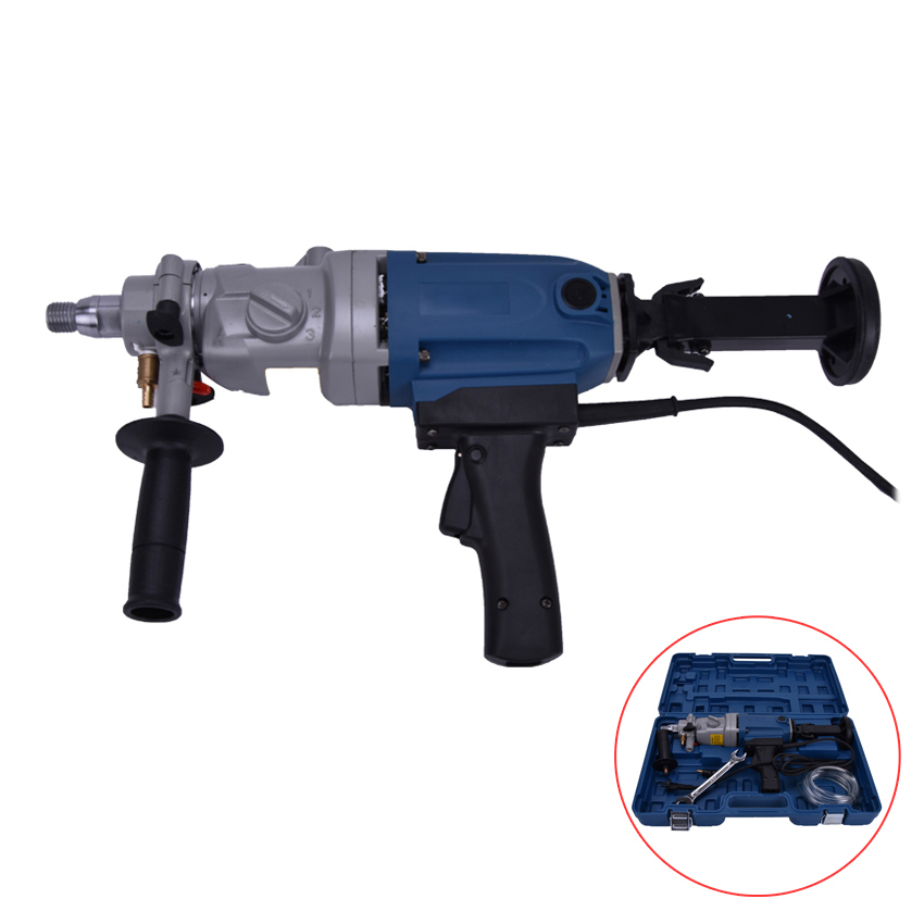 цена на 190mm Diamond Drill With Water Source(hand-held) 1800w Concrete Drill Hole Machine 3 Speed Diamond Drill Electric Drill