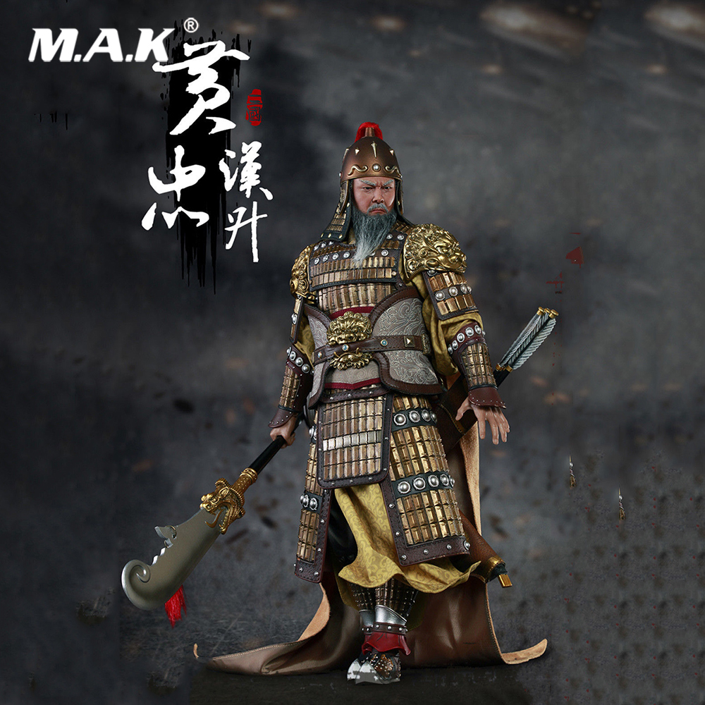 For Collection 1/6 Scale Full Set THREE KINGDOMS SERIES HUANG ZHONG A.K.A HANSHENG Collectible Figure Model for Fans Gifts