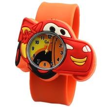 Drop shipping 1pcs new cars fashion Watches Children Kids watch Boys gift Watch Casual Quartz slap Wristwatch Relogio Relojes