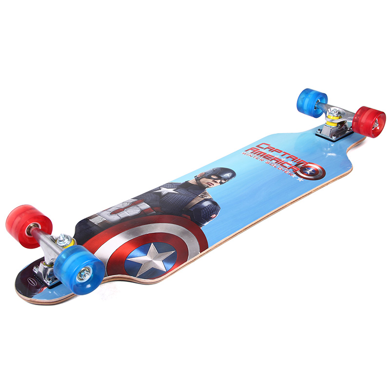 89*19cm Chinese Noth Maple Professional Skateboard Road Longboard Skate Board 4 Wheel Downhill Street Long Board electric longboard professional skateboard street road skate board 4 wheel long board 7 layers maple 1 layer bamboo page 9