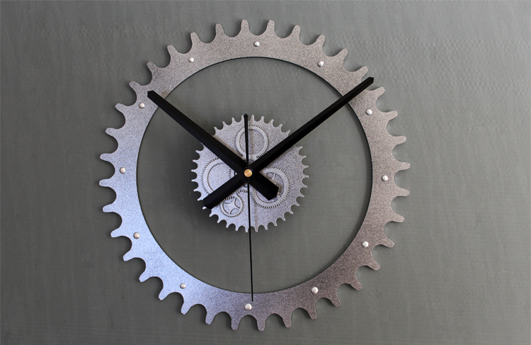 Mechanical Gear Wall Clock,Original Genuine True 3D