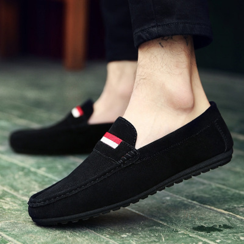 Spring and autumn new youth trend shoes flat comfortable casual men's shoes 48