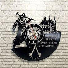 Hot Vinyl Record Wall Clock Modern Design Decorative Clocks For Home Decor