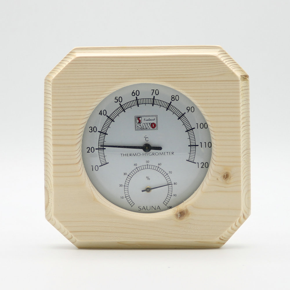 single sauna wooden hygrothermograph thermometer hygrometer sauna room accessory us826. Black Bedroom Furniture Sets. Home Design Ideas