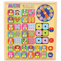Free Delivery Numbers Game Board Puzzles Toys For Children Kids Educational Toys Figure Magnetic Early Development