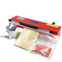Sealing machine Bag Heat Seal Packaging Desktop Small Home Business Powder Liquid Fabric Kraft Paper Plastic Aluminum Foil Food