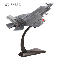 1/72 Scale U.S. Fighter Aircraft American Stealth Navy Army F35 Fighter Show Airplane Models Adult Children Toys for Display