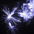 220 V EU Plug 10 M 100 LED Fibra Óptica Luz Cordas Twinkle Luz para o Natal e Festa De Casamento Decoração