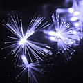 220V EU Plug 10M 100 LED Fiber Optic String Light  Twinkle Light for Christmas and Wedding Party Decoration