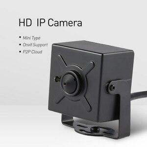 Image 2 - POE ミニタイプ HD 1080P IP カメラ 3.7 ミリメートルレンズ金属 2.0MP 屋内防犯カメラ ONVIF P2P IP CCTV カム