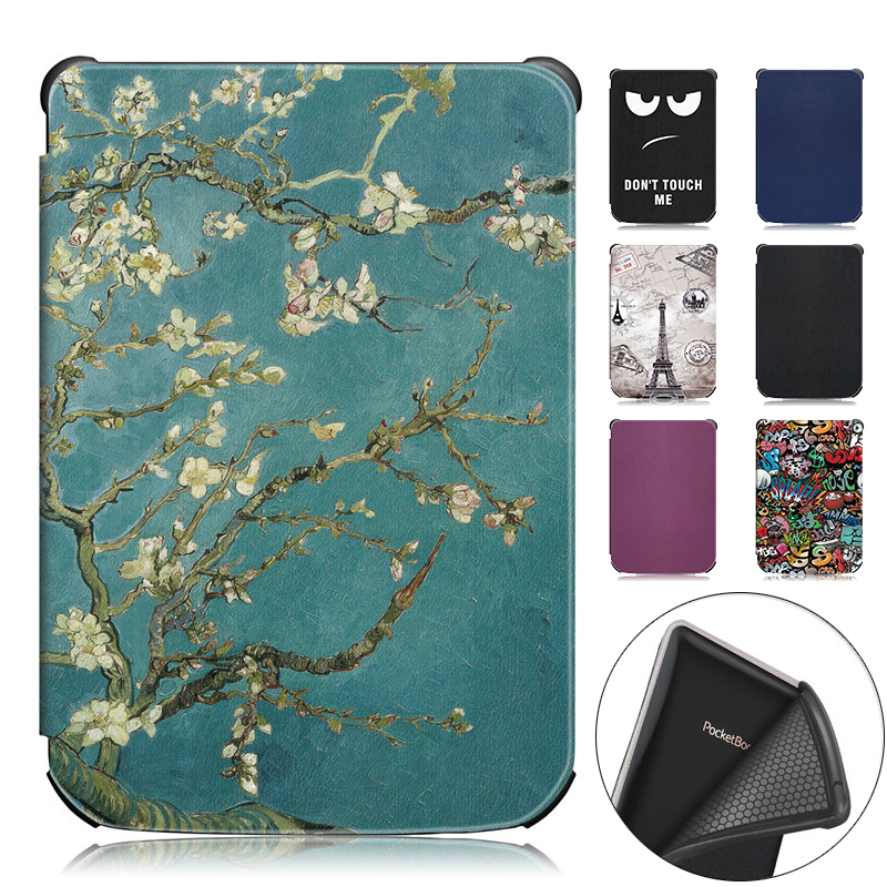 Slim Case for <font><b>Pocketbook</b></font> <font><b>616</b></font> / 627 / 632 Ereader Protective Cover Skin for <font><b>Pocketbook</b></font> Basic Lux 2 / Touch Lux / Touch HD 3 Funda image