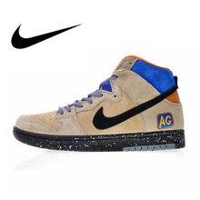 hot sale online d4190 0e771 Original auténtico Nike SB Dunk de Mowabb x Acapulco oro de los hombres  zapatos de skate zapatos zapatillas de deporte transpira.