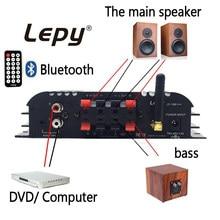 Origainl Tragbare Lepy 168 Plus Drahtlose 2.1CH Audio Digital Kompakte Verstärker Bluetooth 2,1 + EDR 45 watt * 2 Lautsprecher mit 12V5A Stecker