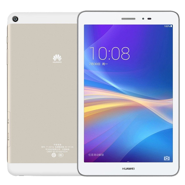 Huawei honor t1-821w/t1-823l tablet pc msm8916 quad-core 2 ГБ ram 16 ГБ Rom 8 дюймов 1280*800 IPS Android 4.4 Dual-Band WiFi GPS BT